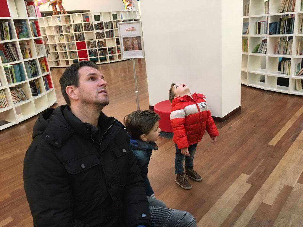 Van boven tot onder: in het Muizenhuis is oneindig veel te ontdekken voor kinderen.