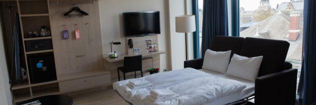 Hotel Scandic Hamburg Emporio, groots, groen en met familiekamers