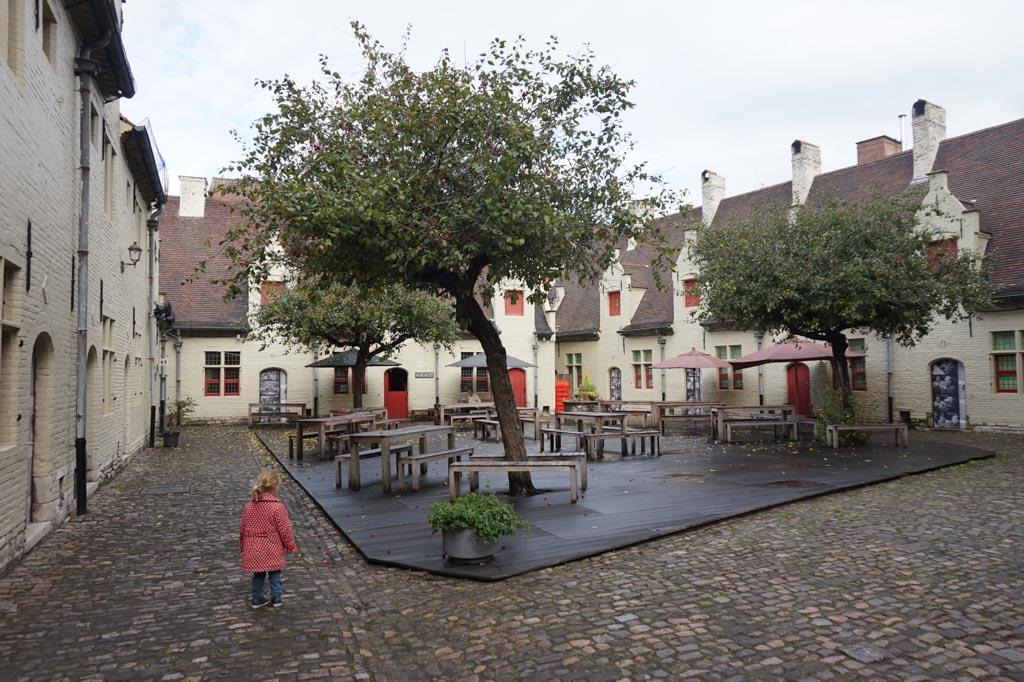 Gent heeft veel sfeervolle plekken.