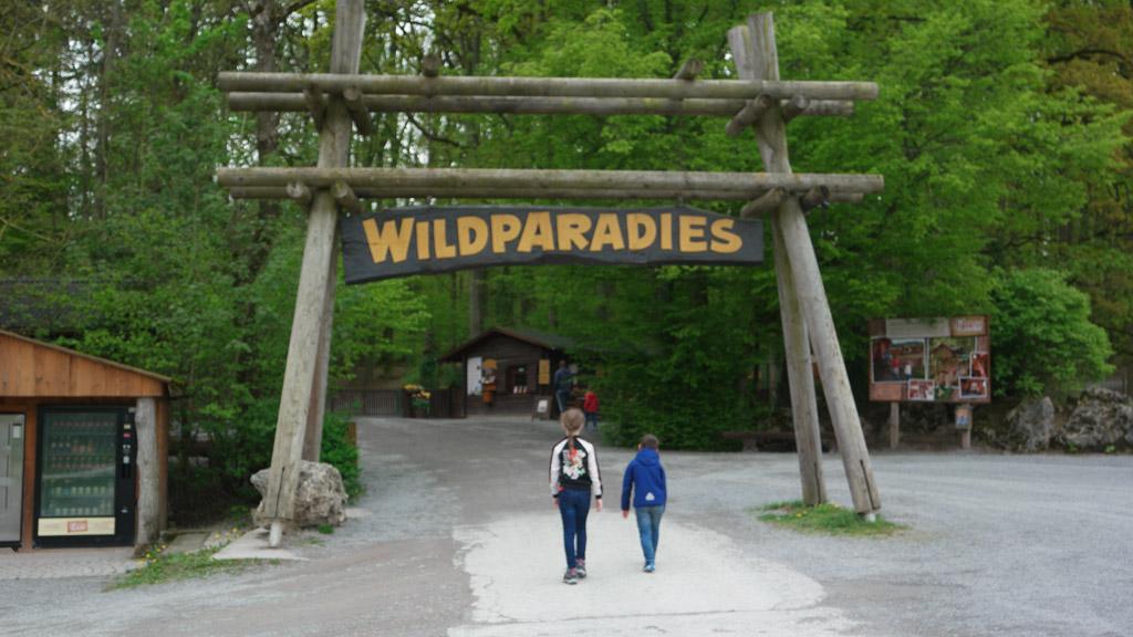 Het wildpark van Tripsdrill.