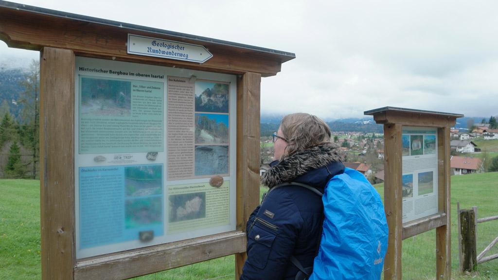 Informatie over de geologie van Alpenwelt Karwendel.