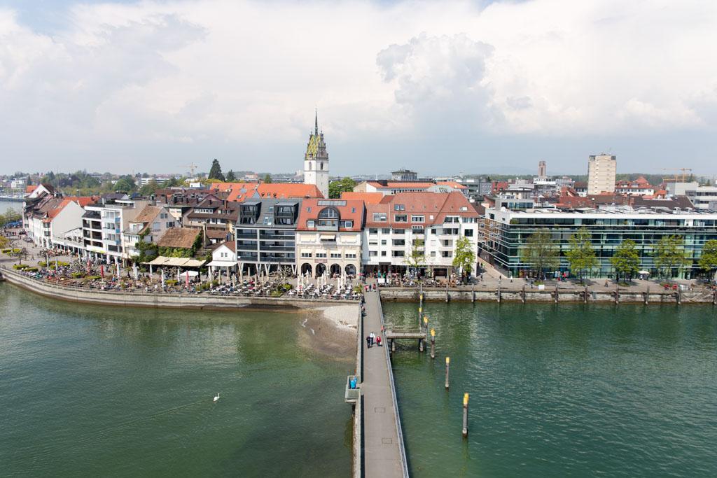 Friedrichshafen één van de bezienswaardigheden Bodensee