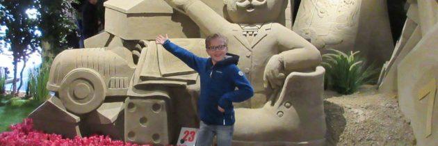 Bekijk de mooiste zandsculpturen op het Veluws Zandsculpturenfestijn in Garderen