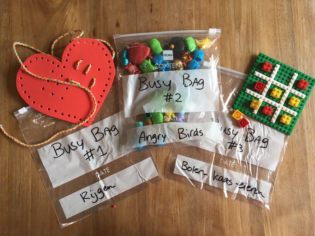 Busy Bags: je maakt ze eenvoudig zelf