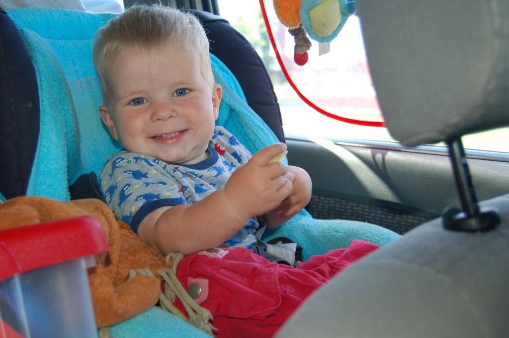 Een vrolijk en ontspannen kind draagt zeker weten bij aan een vrolijke en ontspannen rit