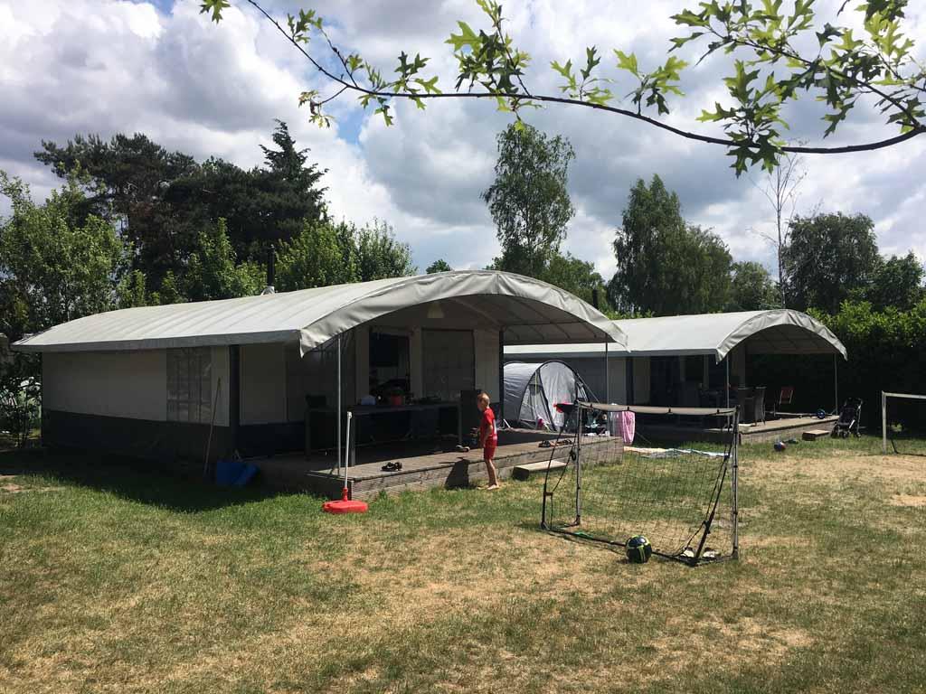 Ook zijn er glamping-mogelijkheden op Camping Ardoer Ackersate.
