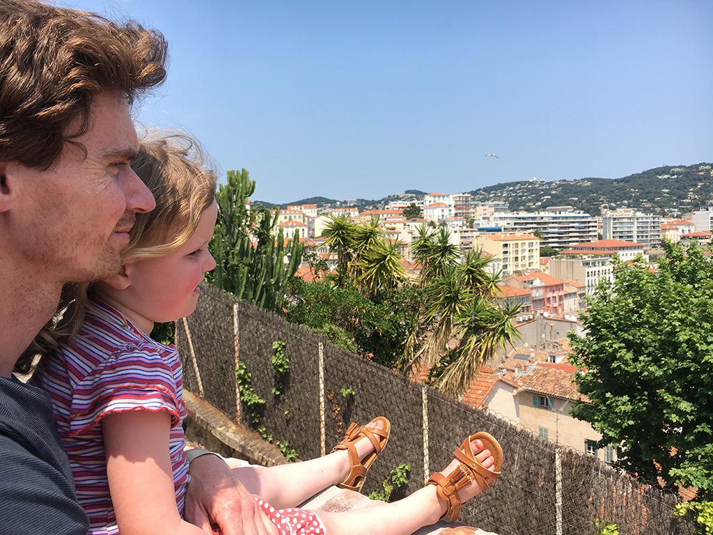 Camping Domaine de la Bergerie Uitzicht over Cannes