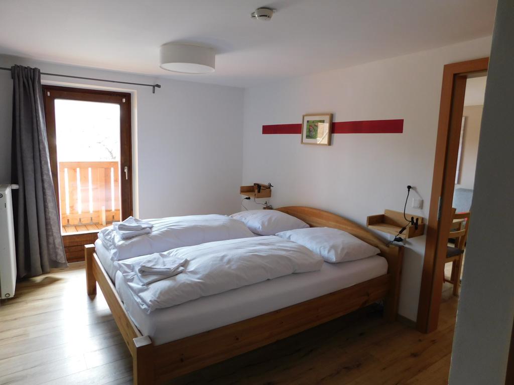 De eerste slaapkamer