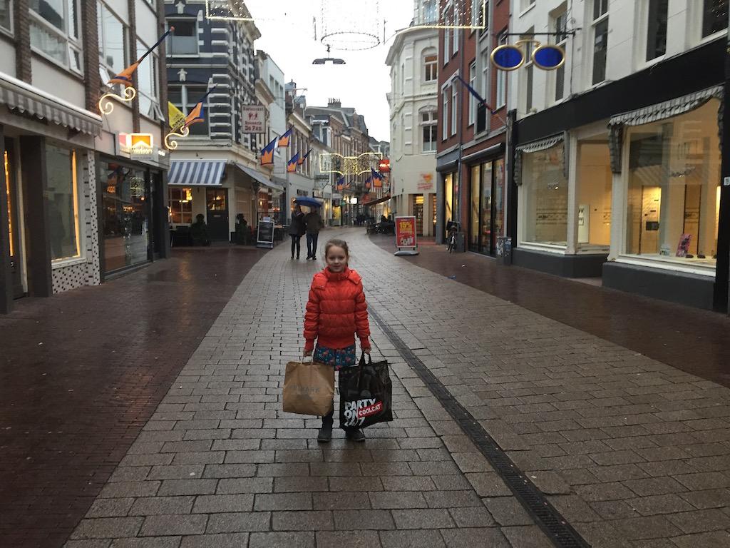 Shoppen kan prima als het regent.