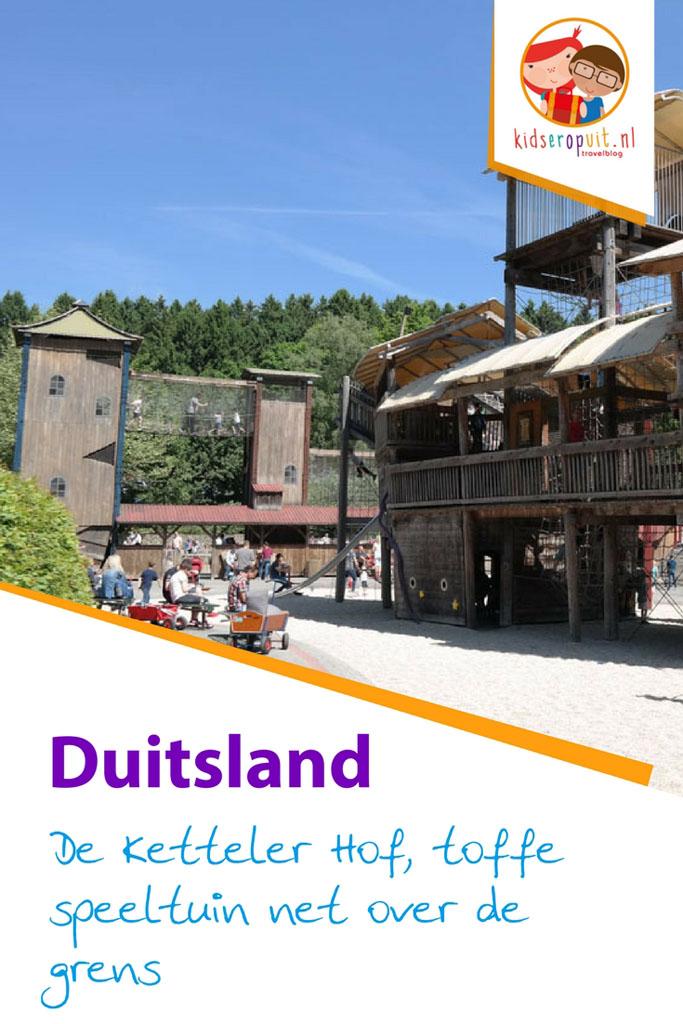 De Ketteler Hof is een hele toffe speeltuin net over de grens in Duitsland.