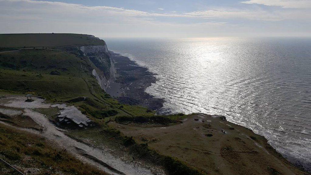 Prachtig uitzicht in Dover.