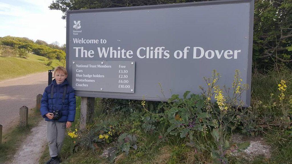 Als je er dan toch bent... neem een kijkje bij de mooie witte kliffen van Dover.