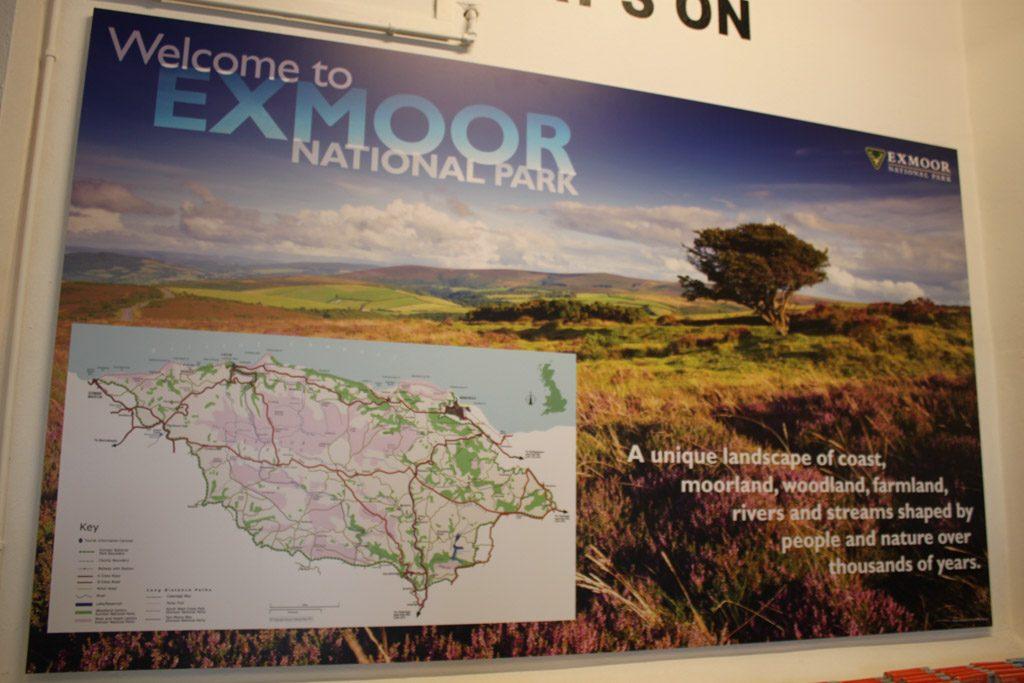 Exmoor Nationaal Park.