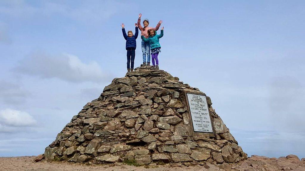 Hoogste punt van Exmoor bereikt!