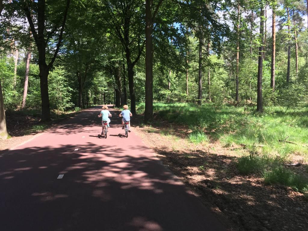 Heerlijk fietsen in Midden-Limburg met kinderen
