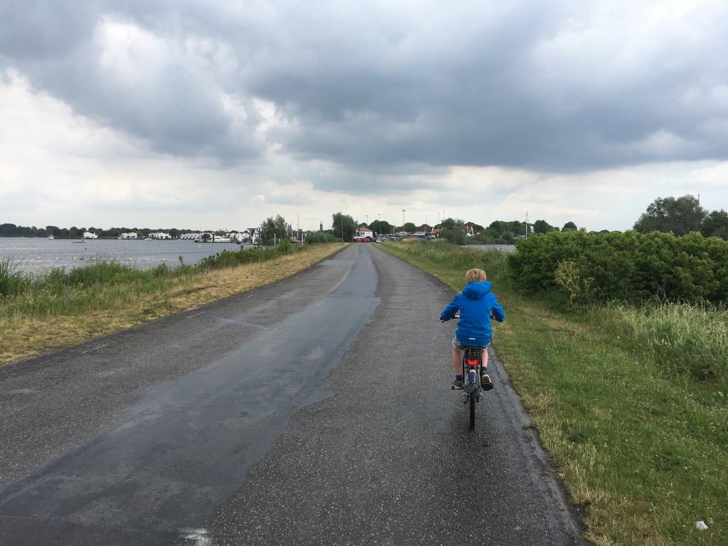 Onderweg naar vakantiepark Marina Oolder Huuske