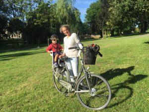 Samen op de fiets is echt genieten!