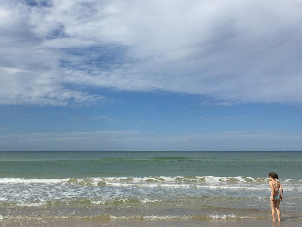 Altijd fijn als het zeewater warmer is.