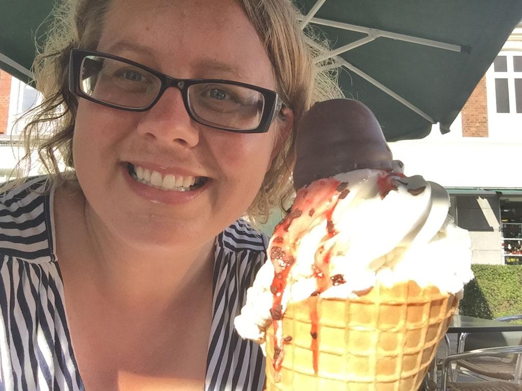 Alleen al vanwege de 'ijsjes' is het de moeite waard om naar Denemarken te gaan.