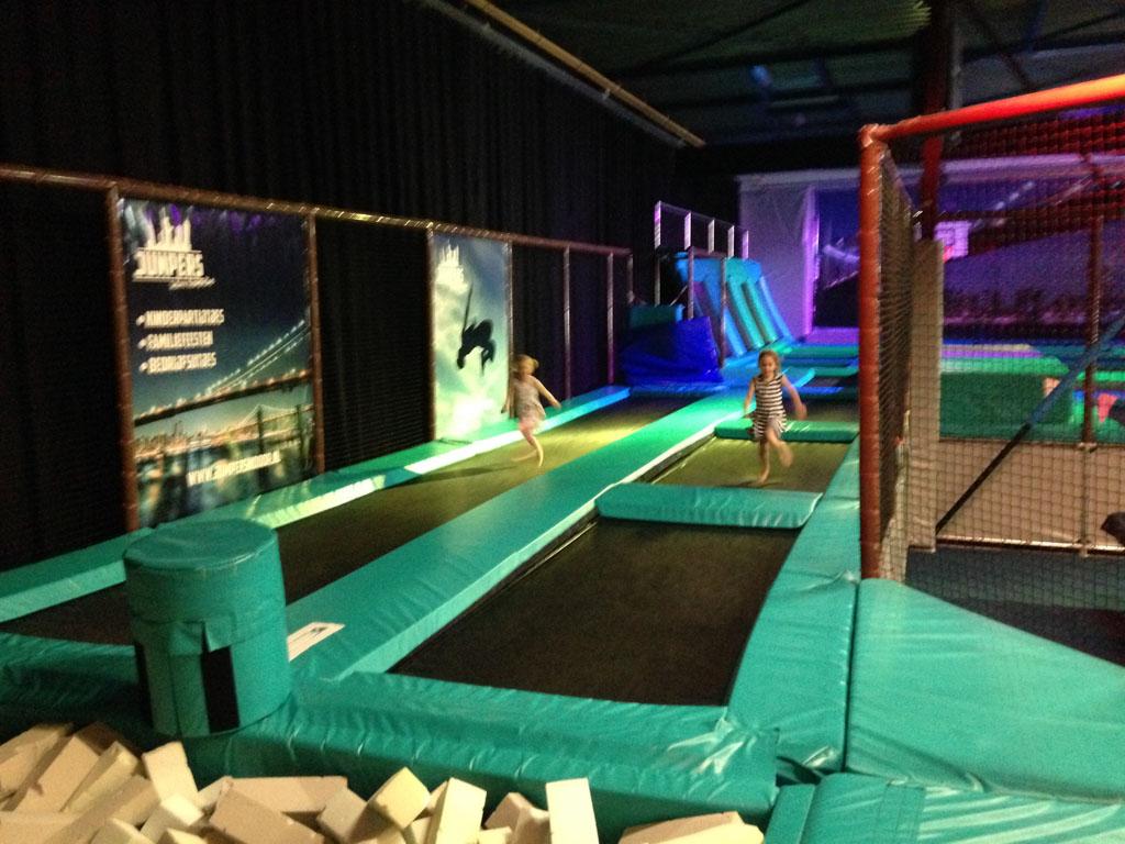 Uitrazen bij Jumpers Indoor (foto: Daphne)
