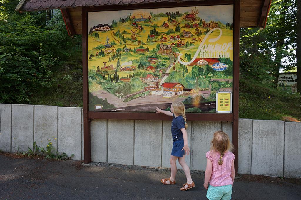 Sommerrodelbahn Ibbenburen Kijken op de plattegrond