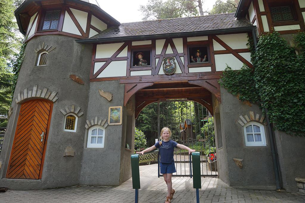 Marchenwald De ingang van het sprookjesbos