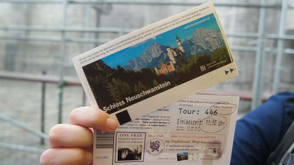 Koop vooraf je kaartje voor Neu Schwanstein.