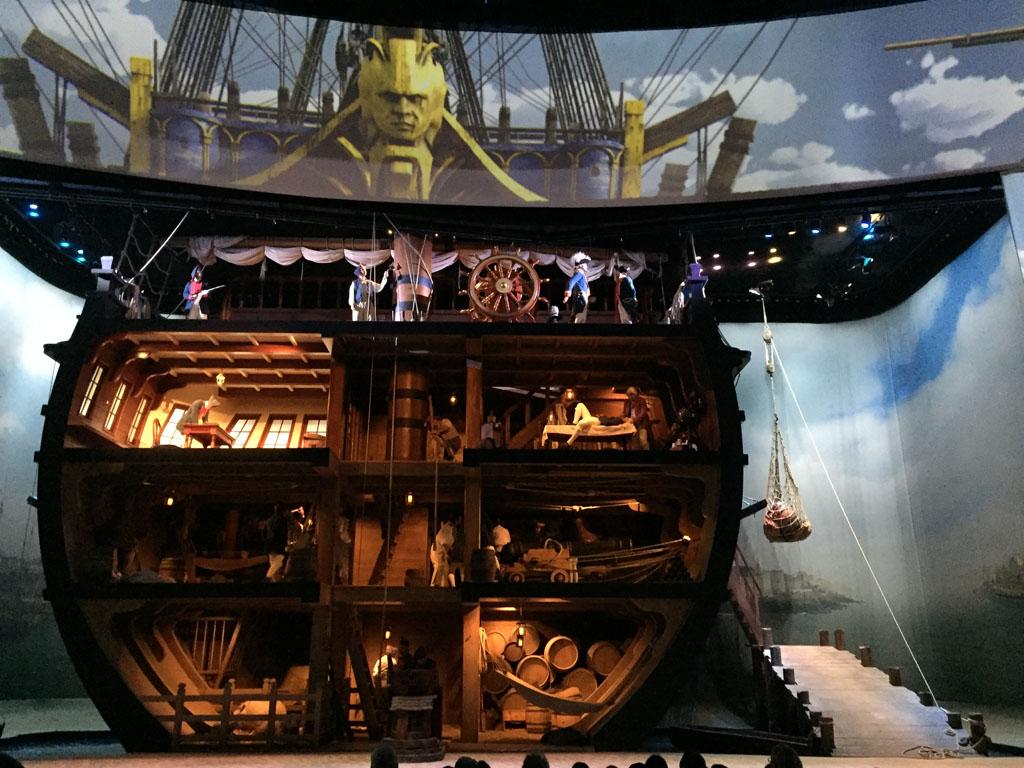Zo mooi gemaakt, dit inkijkje in een schip.