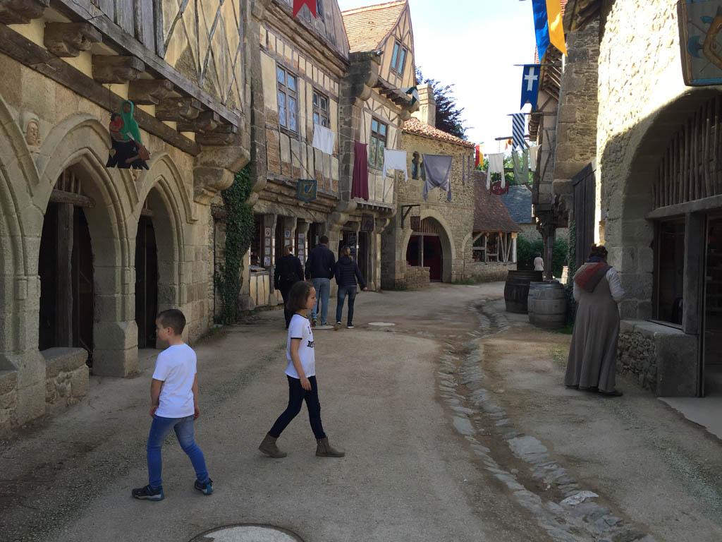 Bezoekje aan de middeleeuwen.