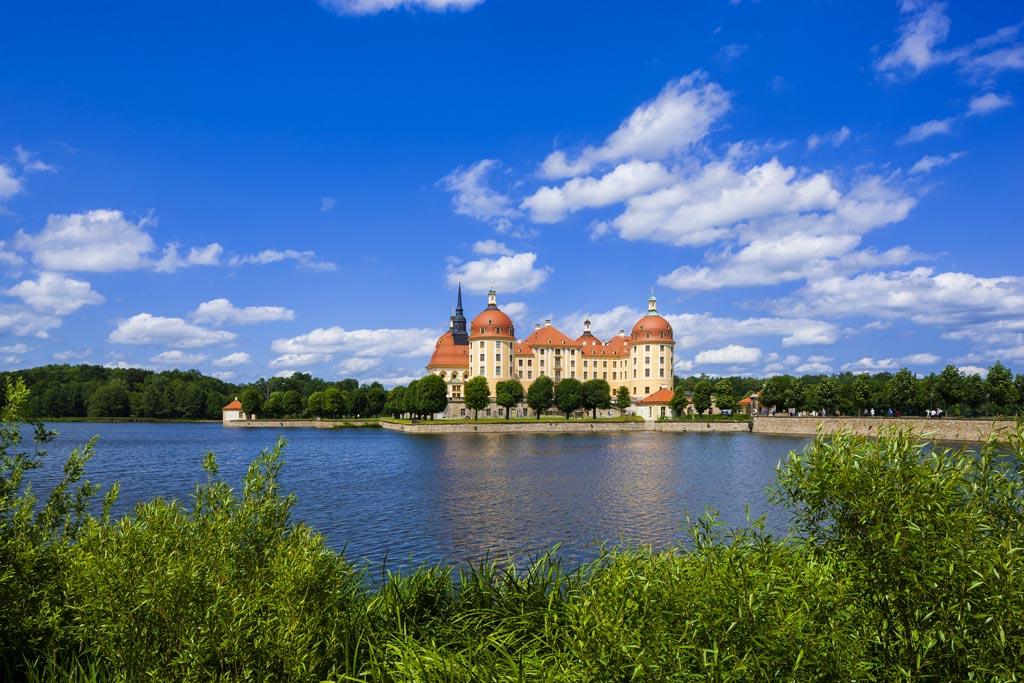 Schloss Moritzburg (copyright foto: Sylvio Dittrich, via Duits Verkeersbureau).
