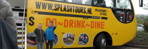 Splashtours Rotterdam: een unieke stadstoer met amfibiebus