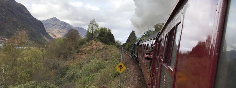 Reis net als Harry Potter met de Jacobite stoomtrein door de Schotse Hooglanden (Hogwarts Express!)