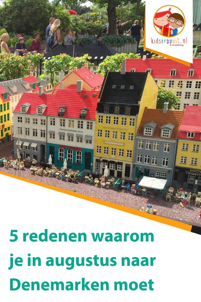 Tips voor vakantie in augustus in Denemarken.