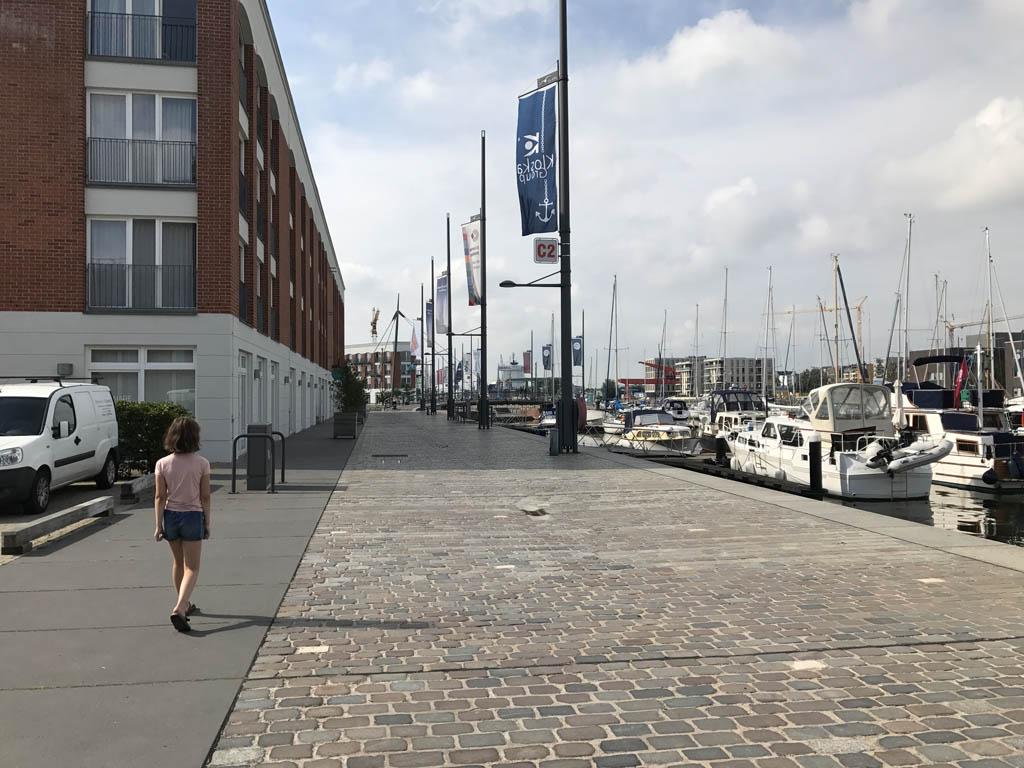 Im Jaich ligt op loopafstand van alle bezienswaardigheden in Havenwelten Bremerhaven.