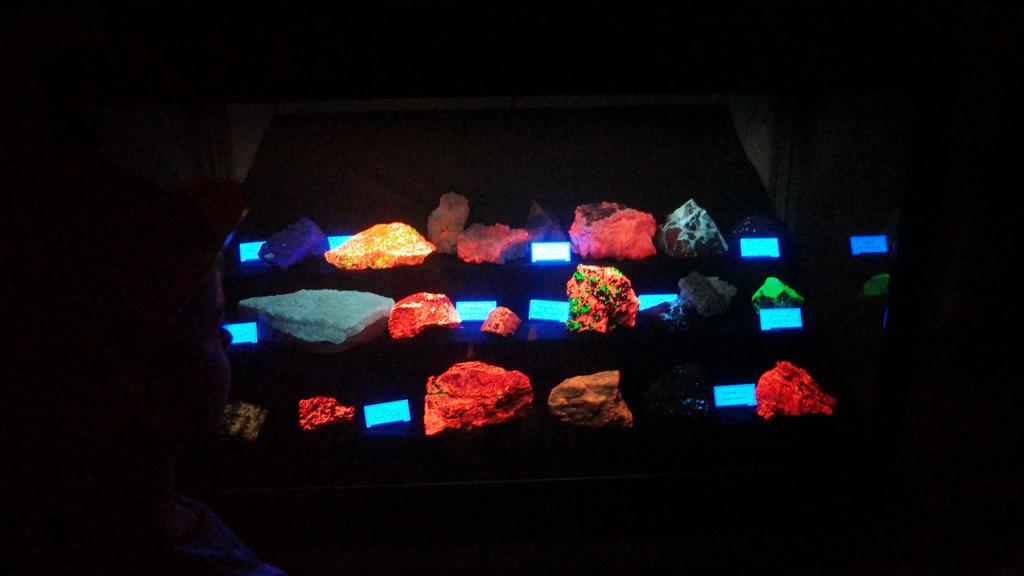 Lichtgevende stenen.