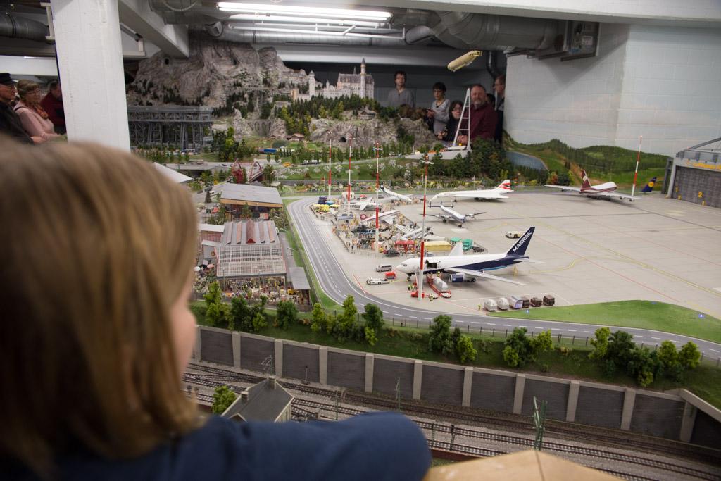 Vliegveld miniatur wunderland