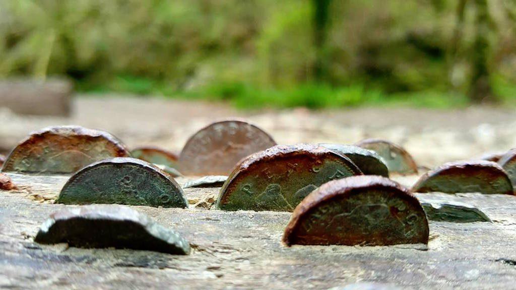 Oude munten.