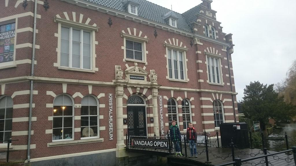 Het Kristalmuseum in Borculo is gevestigd in een prachtig gebouw.