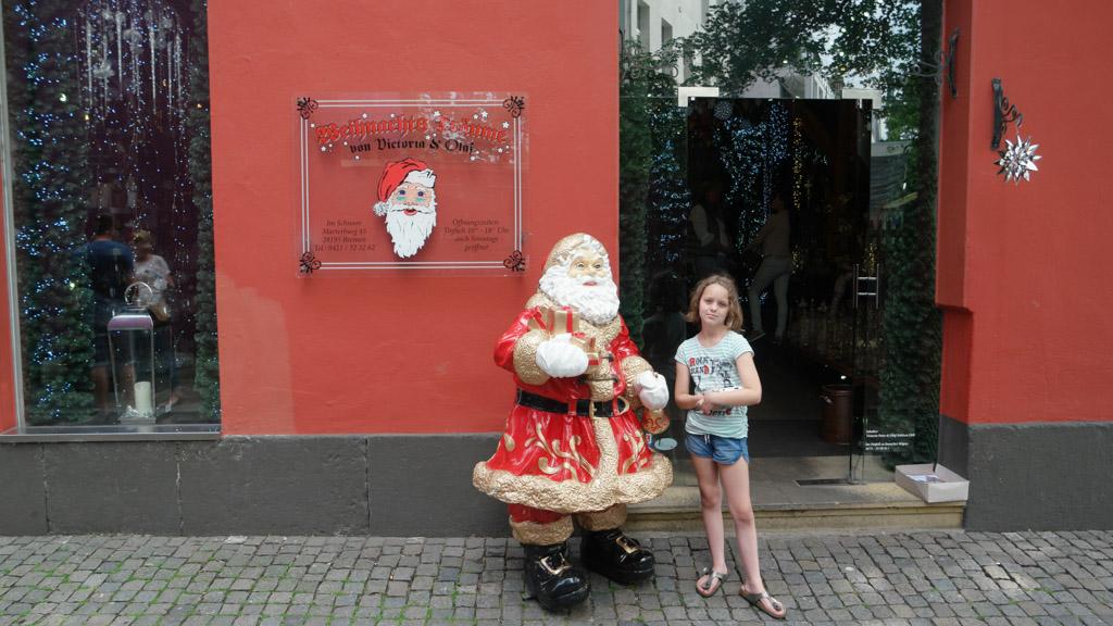 Het hele jaar kan je hier kerst shoppen.