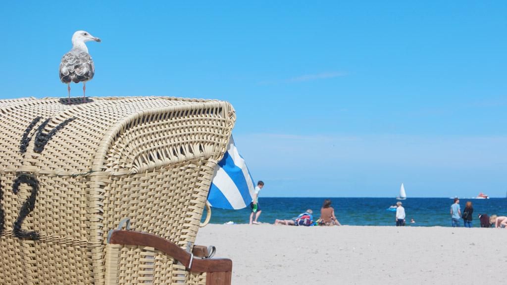 Wat een heerlijk strand.