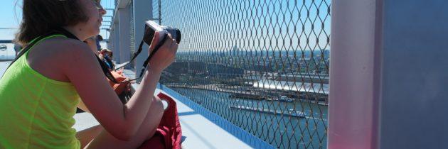 A'DAM Lookout, voor het mooiste uitzicht over Amsterdam en de schommel op het dak