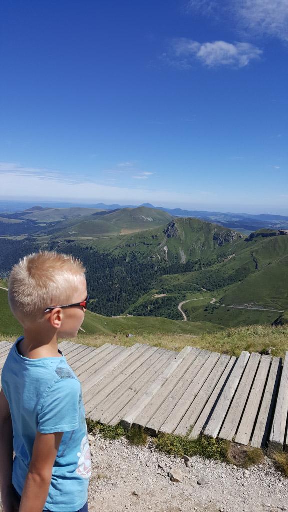Beklimming van de Puy de Sancy met prachtig uitzicht.