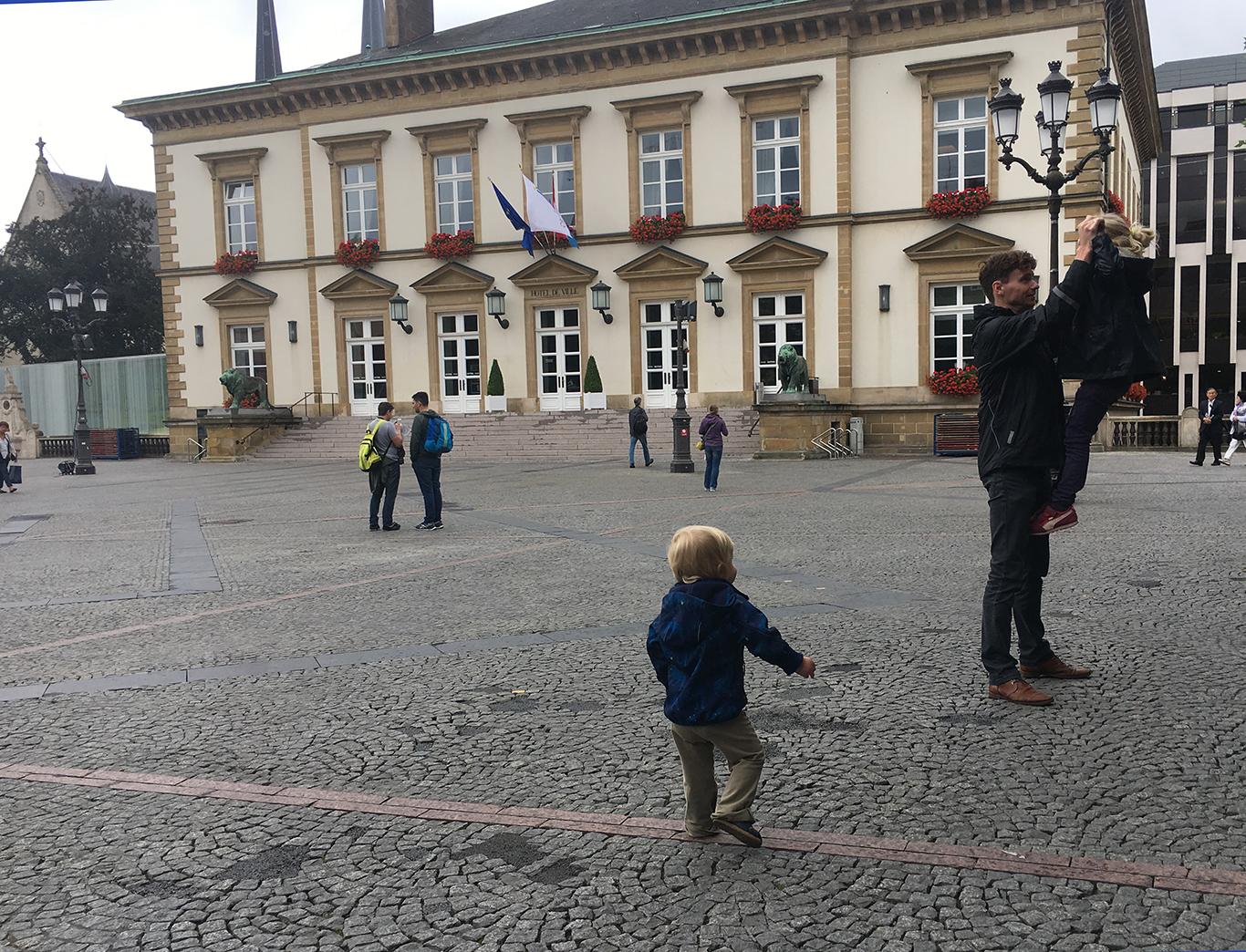 Stadswandeling Luxemburg stad met kinderen