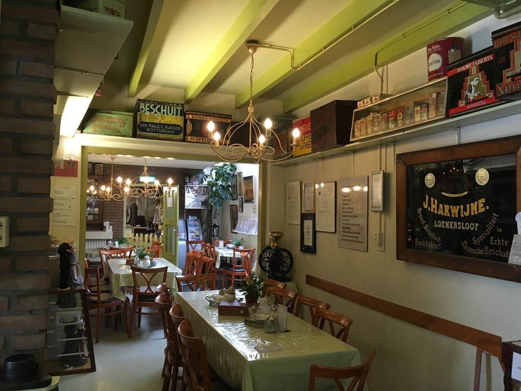 Het restaurantje in De oude bakkerij