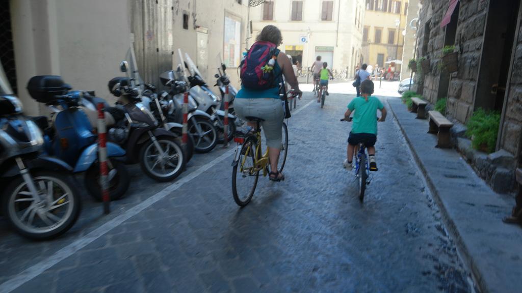 En we fietsen verder.