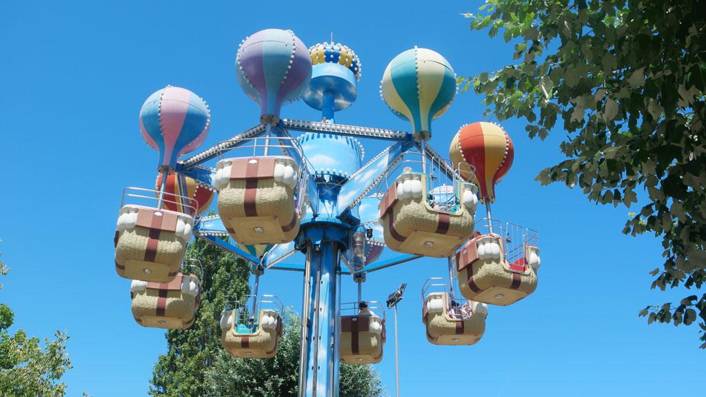 Een rondje in de luchtballonnen.