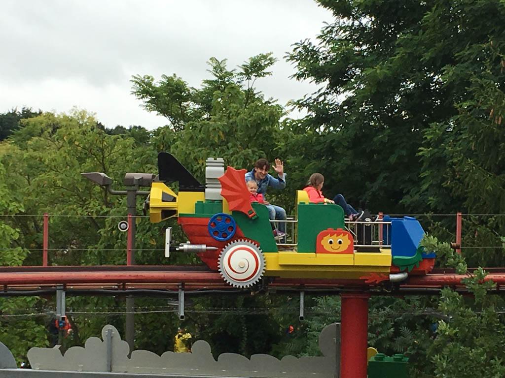 Legoland Duitsland van bovenaf bekijken