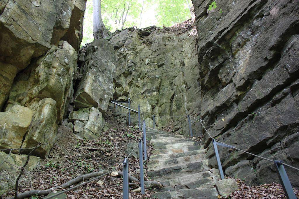 Je moet wel zin hebben om een beetje klimmen bij deze wandeling.