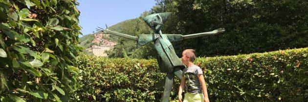 Parco di Pinocchio, het Pinokkiopark in Collodi (vlakbij Lucca in Italie)