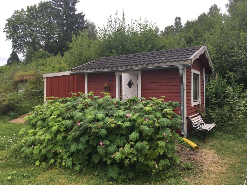 Dit is de Stuga waar we de eerste nacht in slapen